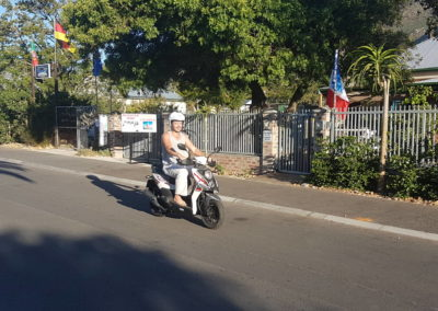 2 Day Scooter Hire, Driver with  Passenger