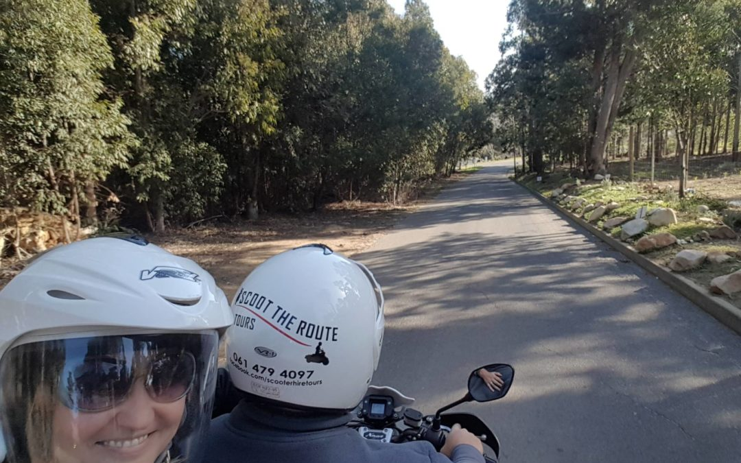 Weekly Scooter Hire , Driver with Passenger