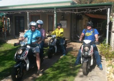 Off-Road  Guided Scooter Tours