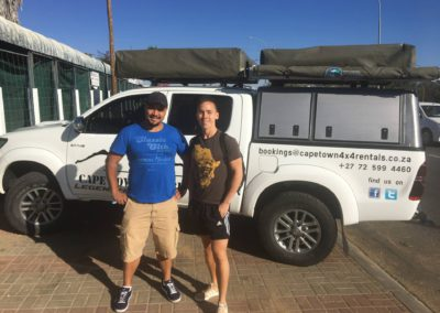 4×4 Fully Equipped Camping Vehicle Rentals